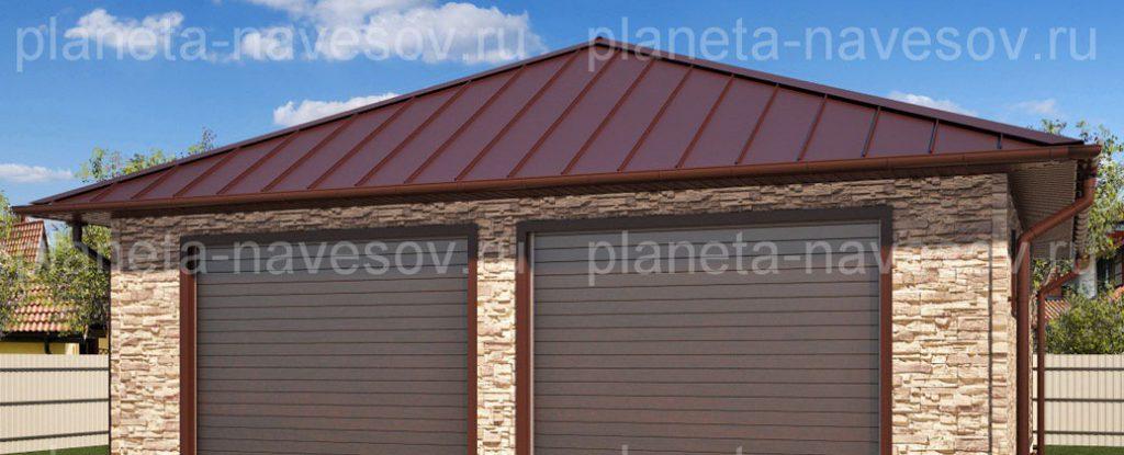 Особенности и разновидности материалов для кровли крыши гаража